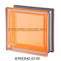 Стеклоблок Vetroarredo металлизированный mendini ambra q19