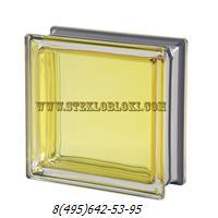 Стеклоблок Vetroarredo металлизированный mendini citrino q19
