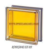 Стеклоблок Vetroarredo металлизированный mendini topazio q19