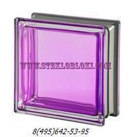 Стеклоблок Vetroarredo металлизированный mendini tormalina q19