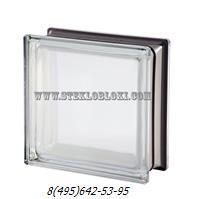 Стеклоблок Vetroarredo металлизированный mendini white 30% q19