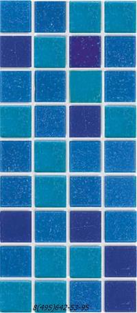 Мозаика Creativa mosaic deep blue