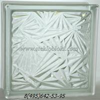 Стеклоблок Vitrablok мороз бесцветный
